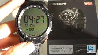 REVIEW: TicWatch Pro, Best $250 Smartwatch? (GPS, NFC)