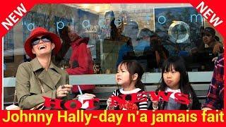 Johnny Hallyday n'a jamais fait de différence entre ses enfants biologiques et Jade et Joy