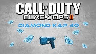diamond kap 40 double swarm nuclear fail black ops 2 diamond pistols handguns