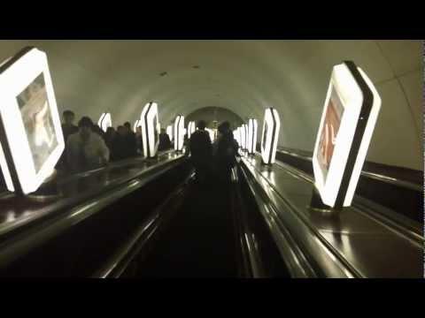 International School Teachers Ride the Kiev Metro