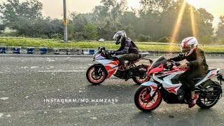 Pulsar RS200 BS4 VS RC 200 BS4 - Drag Race