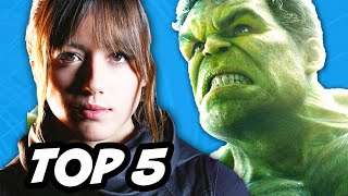 Agents Of SHIELD Season 2 Episode 15 - Inhumans Hulk House