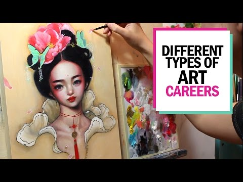 DIFFERENT TYPES OF ART CAREERS 🎨 Studio Sessions Ep  8