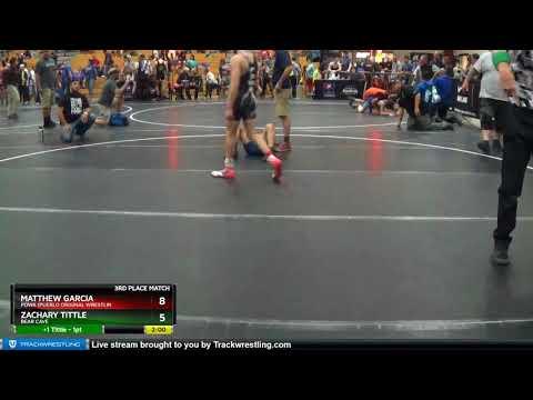 Middle School 114 Zachary Tittle Bear Cave Vs Matthew Garcia Powa (Pueblo Original Wrestlin
