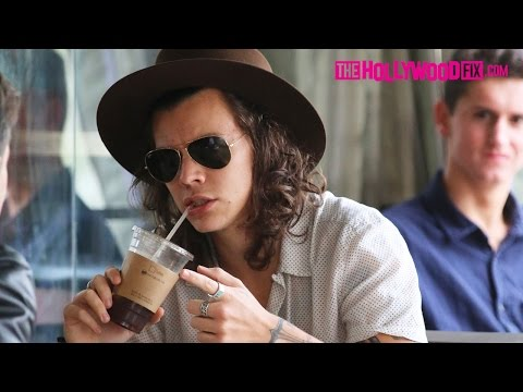 Harry Styles Grabs Coffee Before Billboard Music Awards 5.17.15 - TheHollywoodFix.com