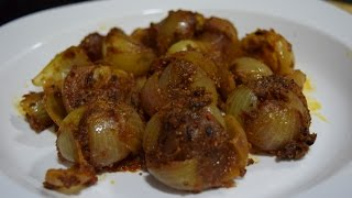 Stuffed Onion Recipe / Bharwa Pyaz