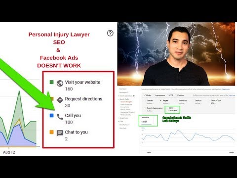 Personal Injury Lawyer SEO & Facebook Ads Don't Work – 100 Calls in 30 Days – PROVING IT SERIES