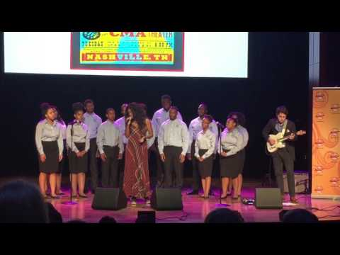 Ruby Amanfu with The Fisk Jubilee Singers