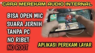 CARA MEREKAM AUDIO INTERNAL ANDROID