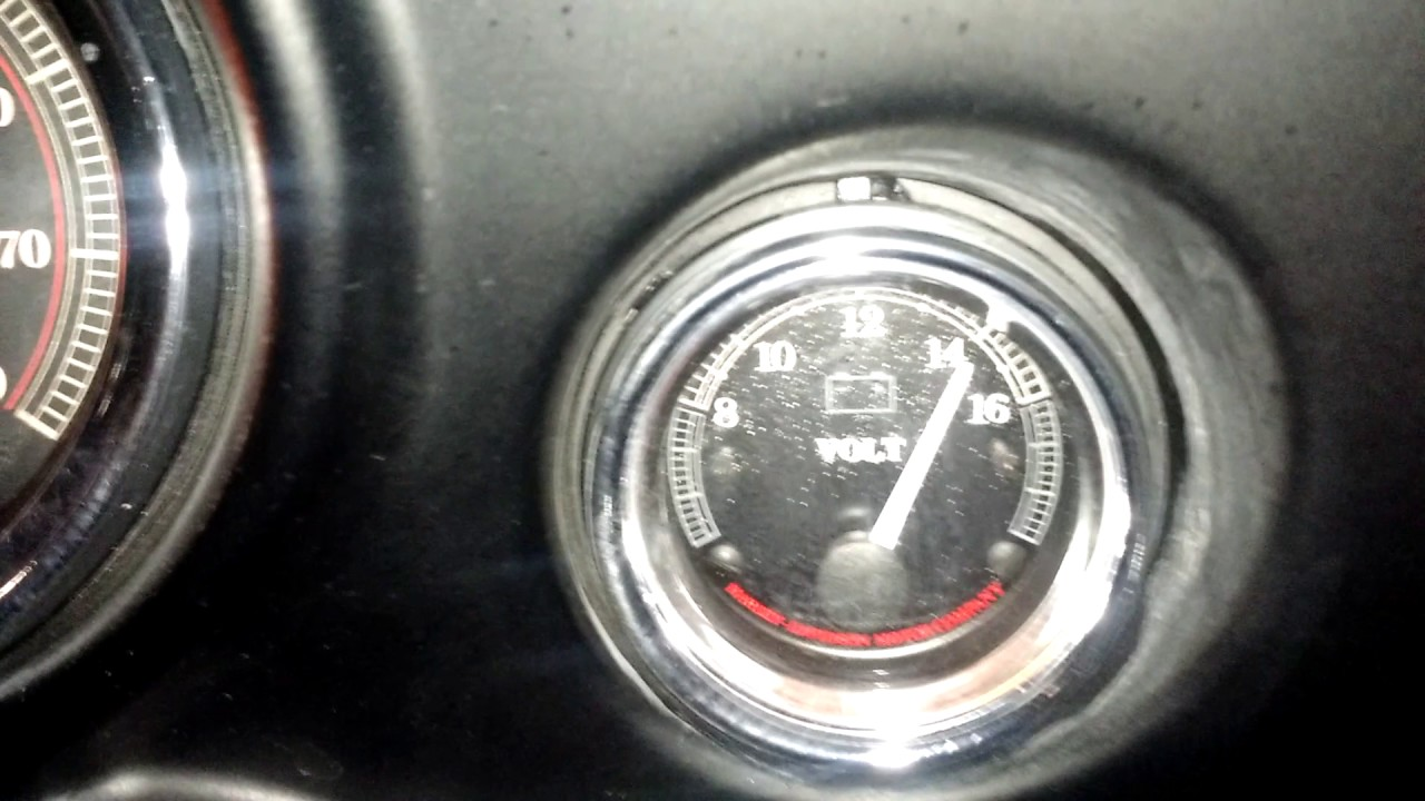 battery voltage and start of a harley-davidson electra glide