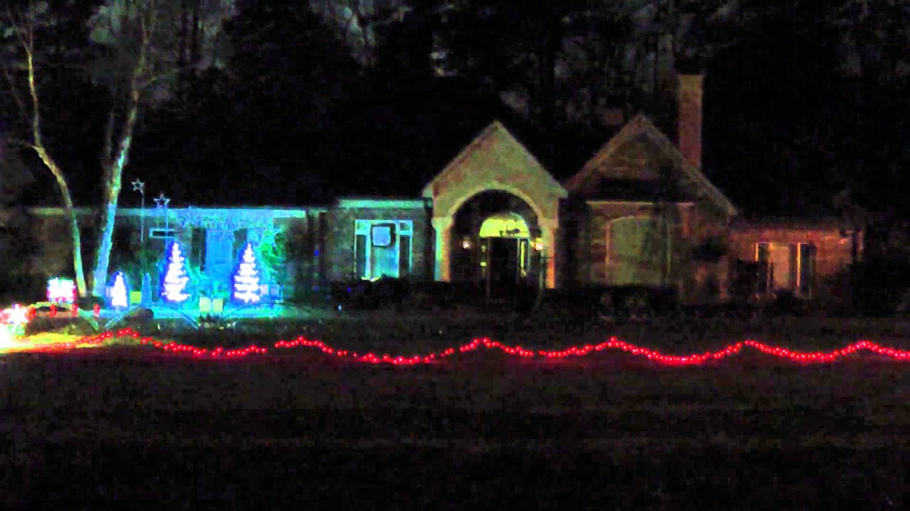 Meridian, Mississippi Christmas Light Show - Mad Russian's ...