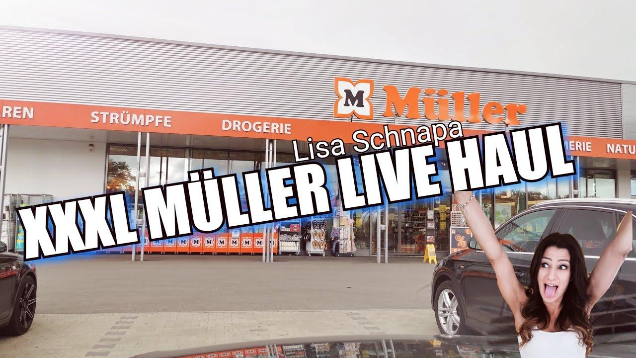 XXXL MÜLLER LIVE HAUL | DROGERIE LIVE HAUL | KOMM SHOPPEN MIT MIR | MÜLLERBLÜTEN | Lisa Schnapa