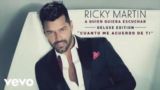 Ricky Martin - Cuanto Me Acuerdo de Ti (Cover Audio)