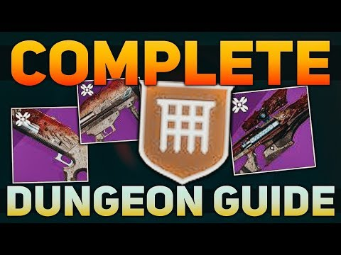DUNGEON Guide (Pit of Heresy) ALL 4 Encounters | Destiny 2 New Shadowkeep Dungeon