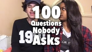 100 Questions Nobody Asks Tag! - Couples VLOG