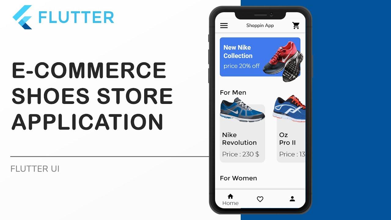 E-commerce Shoe Store Application Using Flutter