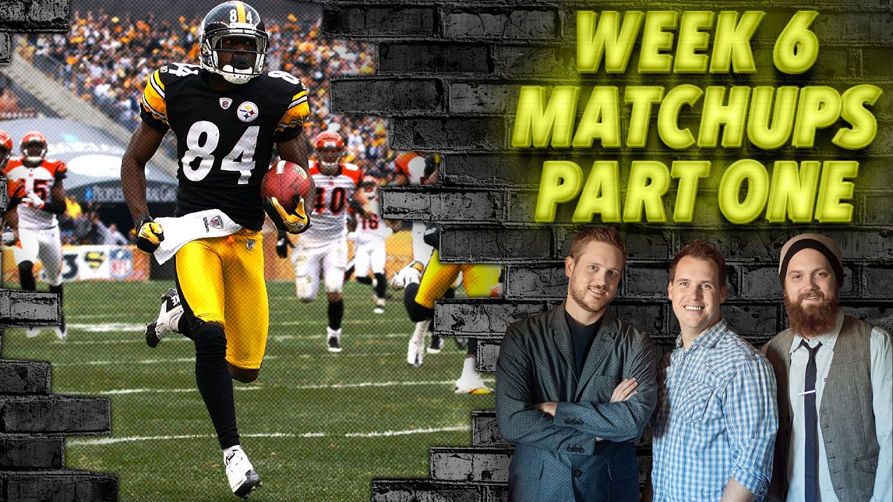 Download Week 6 Matchups Part One - The Fantasy Footballers