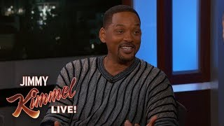 Will Smith on Son Jaden Wearing Batman Suit at Prom
