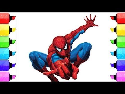 Libro Da Colorare Spiderman Pagine Di Colorazione L Disegnare E