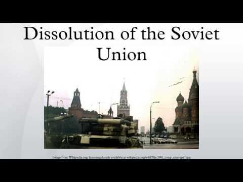 Dissolution of the Soviet Union