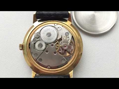 Prim vintage watch, running movement, 17 jewels