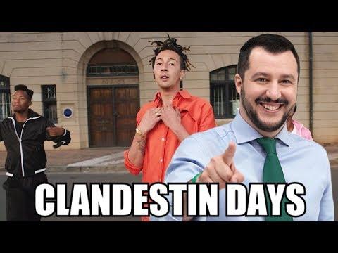 CLANDESTIN DAYS (PARODIA GHALI - HAPPY DAYS)