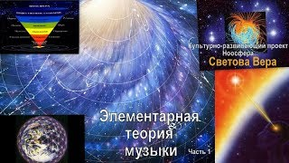 Культурно развивающий проект Ноосфера. Элементарная теория музыки. Урок 1