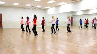 Hello My Love - Line Dance (Dance & Teach in English & 中文) Video