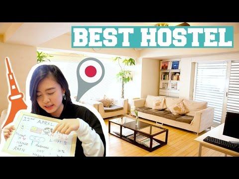 BEST HOSTEL IN TOKYO?! Travel Diary
