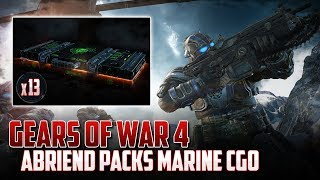 Gears of War 4 | Abriendo 13 Packs | Marine CGO con Dinamitas!!