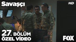 Karargaha Çiğdem Teğmen'in vurulduğunun haberi geliyor... Savaşçı 27. Bölüm