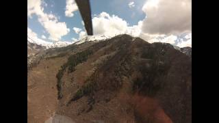 Helicopter Ride Over The Quail Hollow Fire Burn Area, Alpine Utah, 5-10-2013