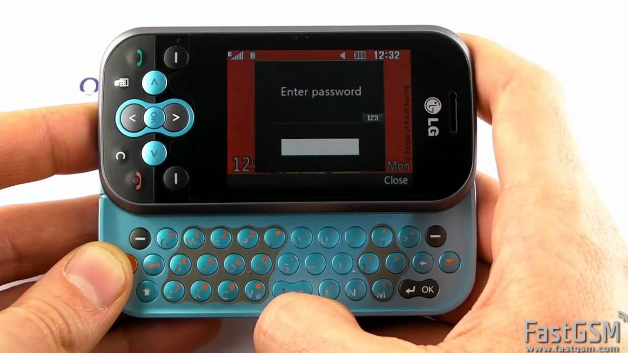 msn para celular lg gt360 gratis