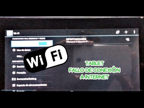 Tablet Android No Se Conecta A Internet  Solucion