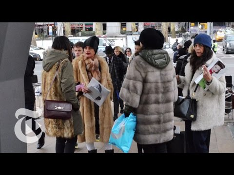 New York Fashion Week 2015 | Bill Cunningham | The New York Times