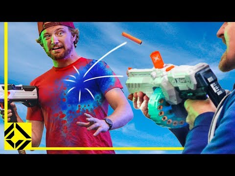 We Invented a New Game: Assimilation (Nerf vs. X-Shot)