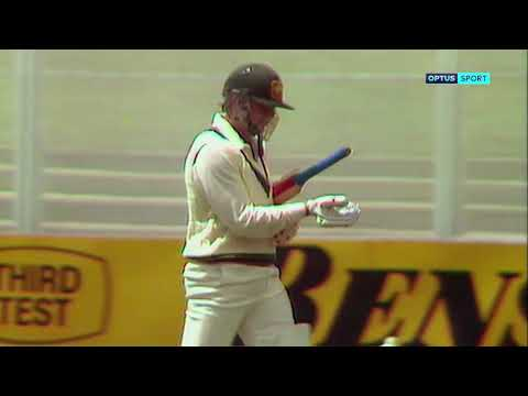 Malcolm Marshall Takes Ten Wickets In A Game