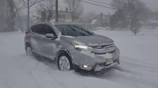 Video Honda CRV Touring 2017 Snow Test (Bomb Cyclone '18) download MP3, 3GP, MP4, WEBM, AVI, FLV Juli 2018