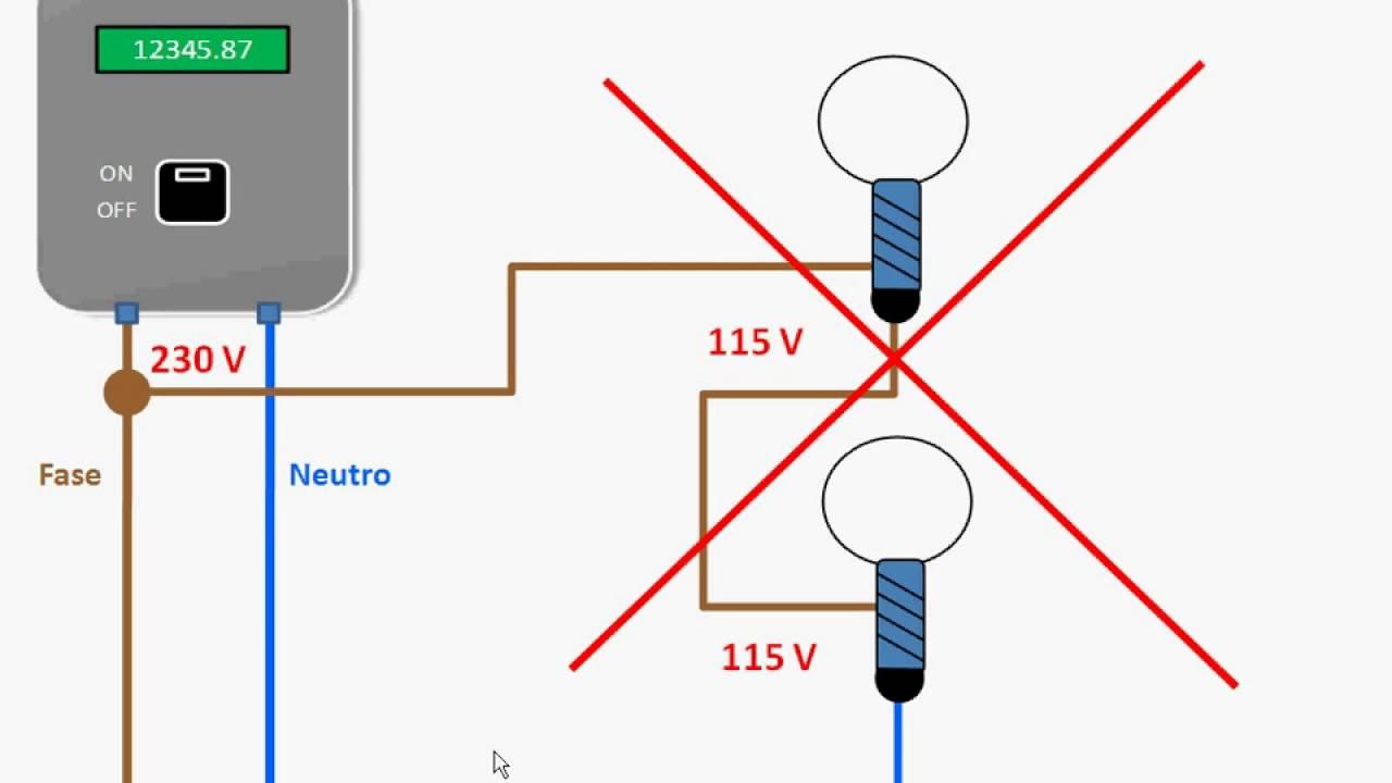 04 T Accensione simultanea di piu lampade - YouTube