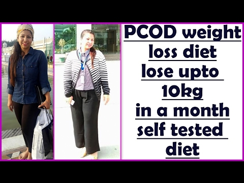 PCOD/PCOS Diet Plan for Weight Loss | How to Lose Weight with PCOS | Healthy Diet Chart