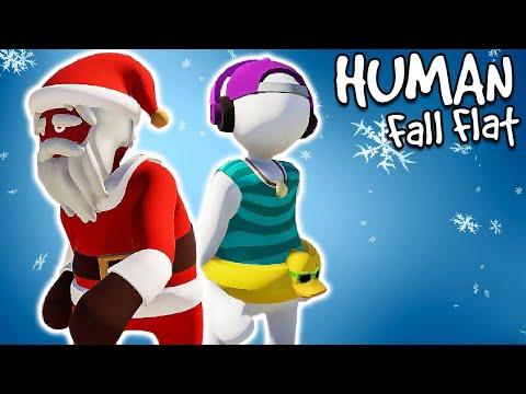 Human Fall Flat - DEDA MRAZ SPASAVA NOVU GODINU! (Co op w/ Cerix)