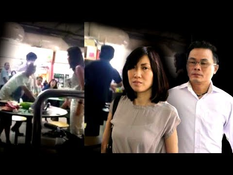 Couple in Singapore hawker centre dispute charged