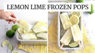 Lemon Lime Frozen Pops | Quick Summer Recipe | Limoneira