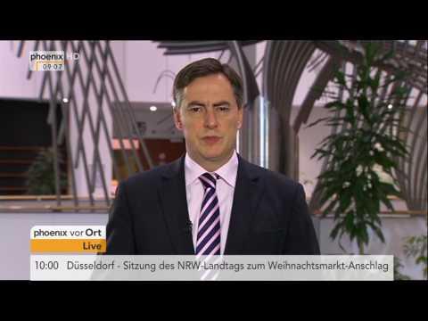 Kanzlerkandidat der SPD steht fest: David McAllister im Tagesgespräch am 25.01.2017