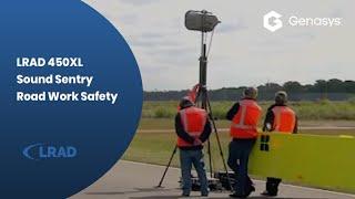 """LRAD 450XL Sound Sentry Road Work Safety"""