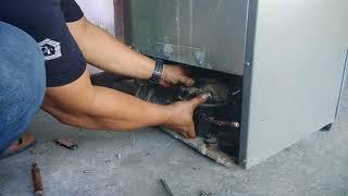 Cara mudah mengganti oli compresor kulkas dan ukuran oli kompresor kulkas