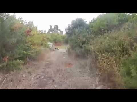 The 18th century ruins of the Athonite Academy near Vatopedi