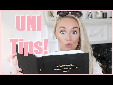 Top Tips for Starting Uni!  My Experience, University Essentials and Money Saving Tips!