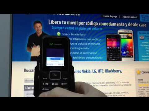 Liberar Samsung E1050, desbloquear E1050 de Movistar Movical Net
