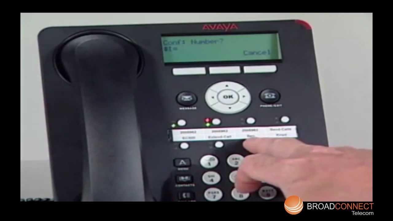 Avaya 1608/1608-i ip telephones.